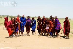 12. Tanec masajských bojovníků