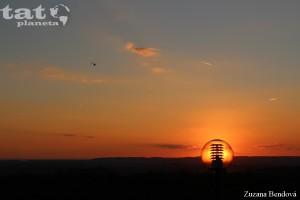 PRODANÉ!!!  2.Západ slunce a vrtulník